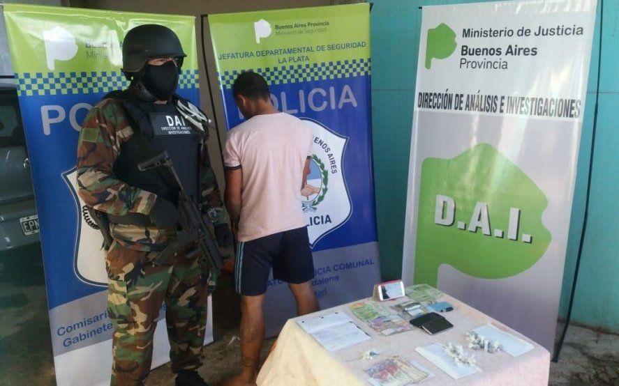 Cayó la banda narco de Poroto: vendían cocaína y marihuana en La Plata, Berisso y Magdalena