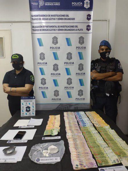En una persecución secuestraron cocaína