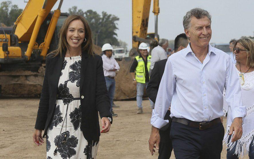 """En medio de rumores de un """"Plan V"""", Macri estuvo con Vidal en la reunión de gabinete bonaerense"""
