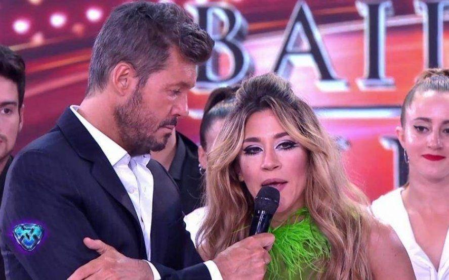 Enfrentados: Jimena Barón cruzó a Tinelli porque invitó a Daniel Osvaldo al Súper Bailando