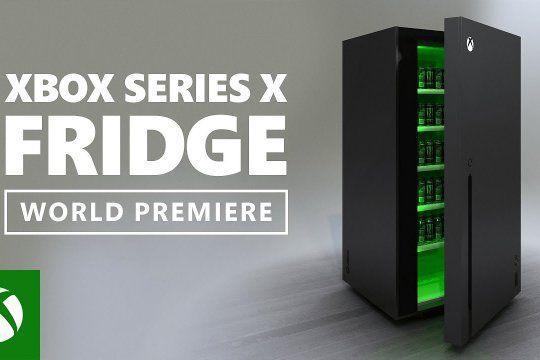 La heladera Xbox Series Fridge luce idéntica a la consola original y sólo habrá un ganador.