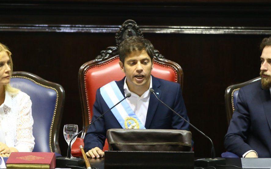Kicillof reflota el pedido de endeudamiento por 500 millones de dólares y 28 mil millones de pesos