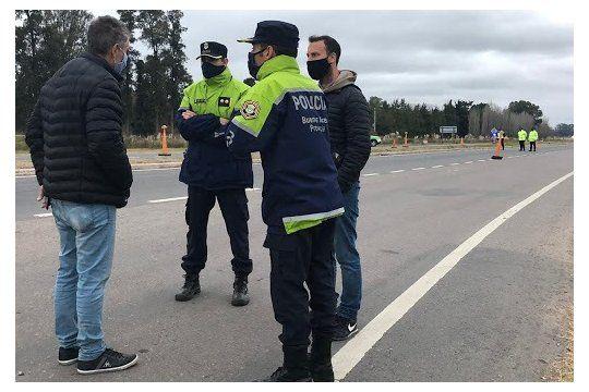 El robo fue en la ruta 46 a la altura del kilómetro 70, en Bragado