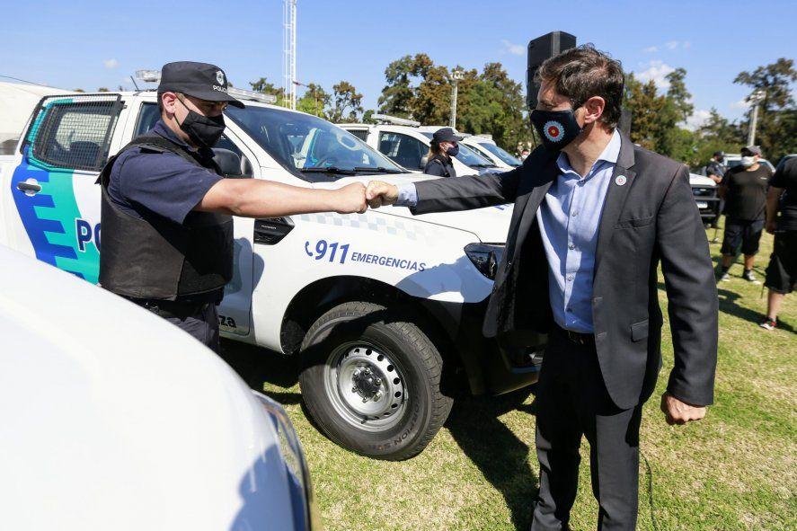Kicillof entregó patrulleros en La Matanza