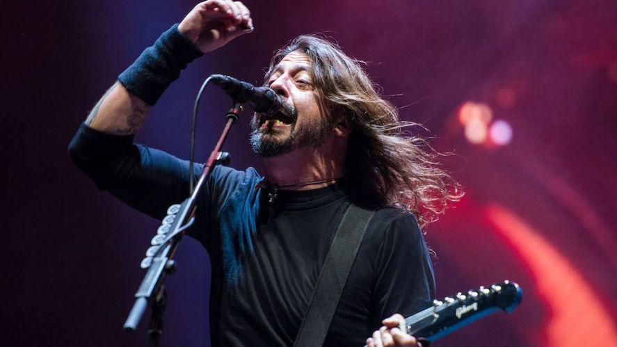 Foo Fighters volvió al vivo solo para vacunados.