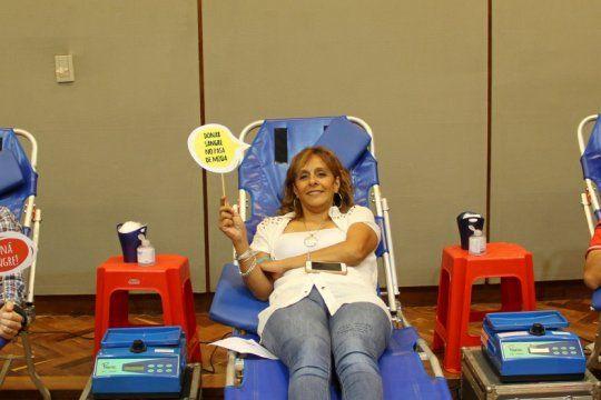 en la provincia, hay una transfusion de sangre cada 4 minutos y se necesitan cerca de 350 mil donantes al ano