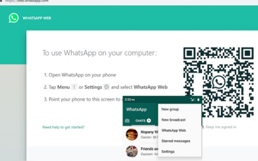 Mirá el curioso cambio en el menú de WhatsApp Web que se volvió viral en Twitter