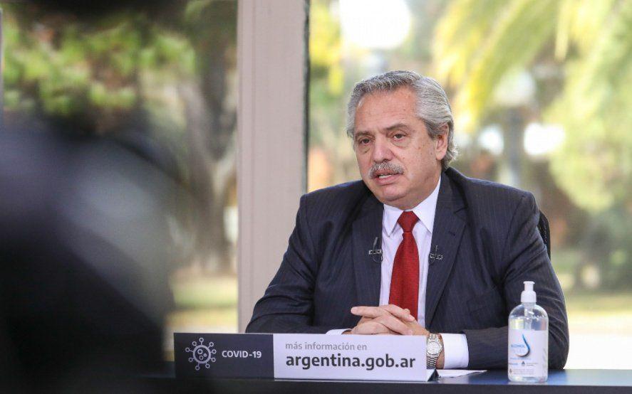 Alberto Fernández analiza con gobernadores la situación sanitaria