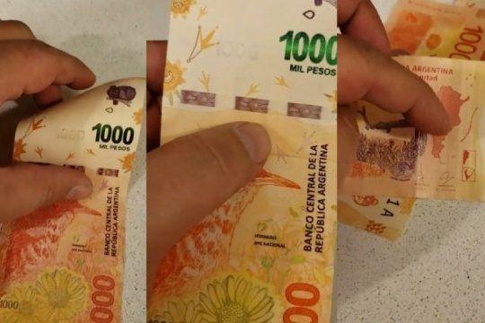 el rene lavand de los billetes de $1000: lo estafaron y grabo un paso a paso para reconocer dinero falso