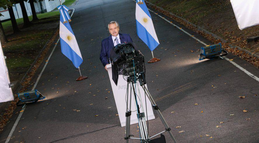 El detrás de escena político de los anuncios de Alberto Fernández