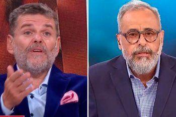 El escandaloso cruce entre Alfredo Casero y Jorge Rial