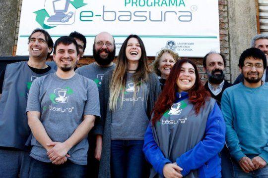 economia circular: la unlp inauguro su propia planta para reciclar basura electronica