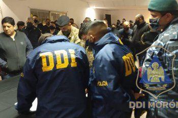 La banda fue desbaratada por personal de la DDI de Morón
