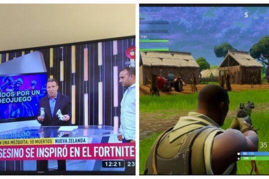 polemica: relacionan la masacre de nueva zelanda con el juego fortnite