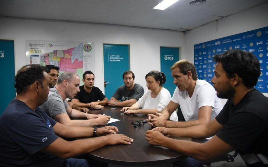 """Garro le exigió al gerente de Edelap un plan de obras """"para siempre"""" para el corredor productivo"""