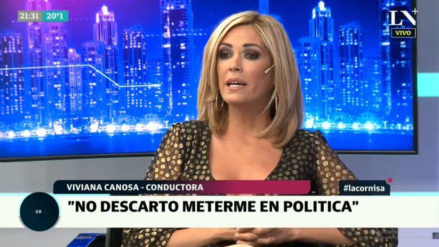 Vivana Canosa admitió que no descarta trabajar en política