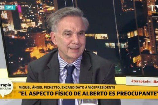 A Miguel Ángel Pichetto le preocupa la salud del Presidente. Lo mandaron a verse en un espejo.