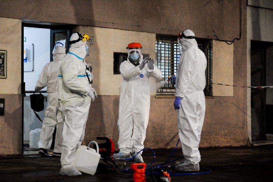 Argentina superó los 2 millones de casos de coronavirus / Foto: N. Braicovich