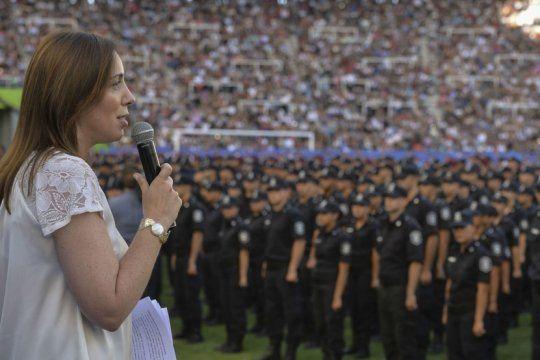 vidal celebro el fallo que condeno a policias bonaerenses coimeros y destaco la ?lucha contra las mafias?