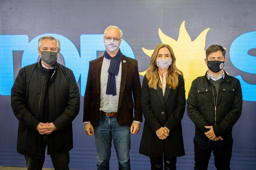 Victoria Tolosa Paz y Daniel Gollán, los candidatos que encabezarán la lista del Frente de Todos en la provincia de Buenos Aires las elecciones legislativas 2021.