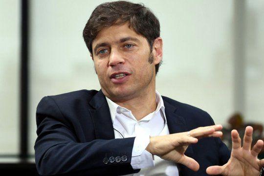 Kicillof sobre la suspensión de las PASO: No es prioritario para mí