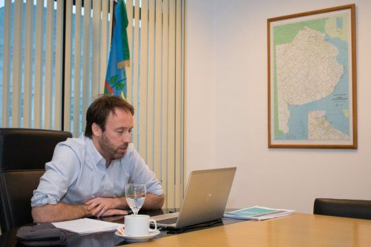 El ministro de Hacienda, Pablo López, encabeza las negociaciones de la Provincia en la reestructuración de la deuda externa.