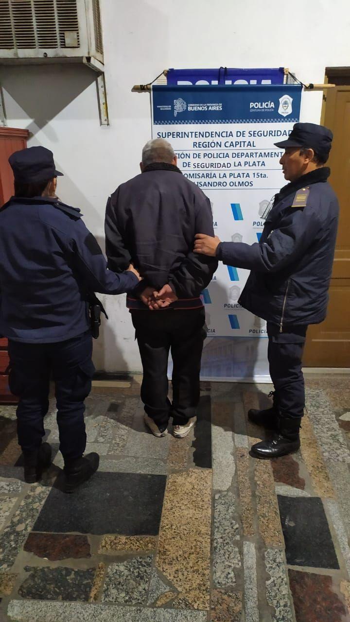 El hombre de 55 años detenido por golpear a su pareja en Olmos