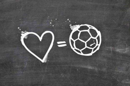 san valentin: el futbol tambien salio a declarar su amor incondicional