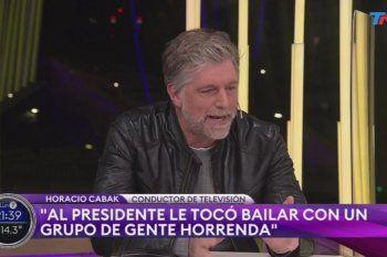 Horacio Cabak fue repudiado en redes por los mismos usuarios que lo idolatraban hace poco tiempo por no ser tan crítico hacia el gobierno y el presidente