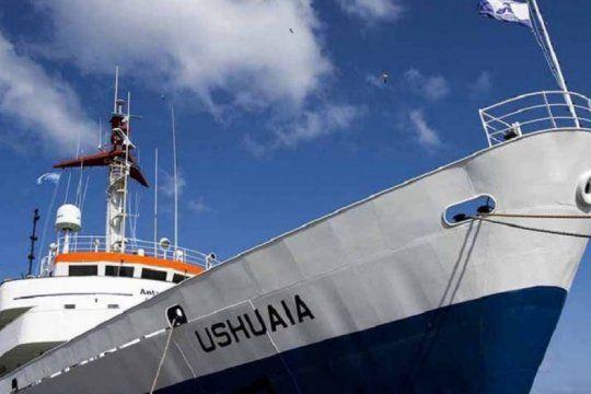 alerta en mar del plata ante la llegada de un buque proveniente de ushuaia