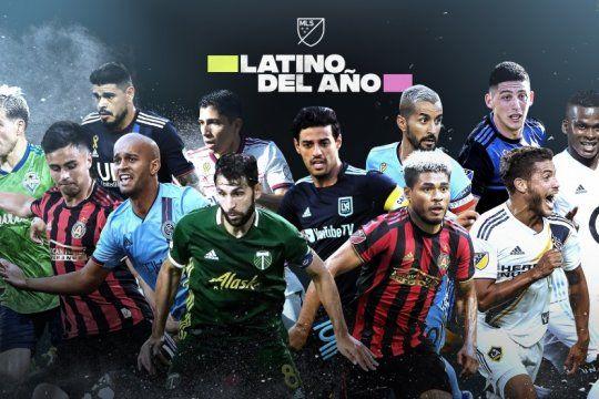 ¿quien es el unico bonaerense peleando por el titulo de latino del ano en la mls?