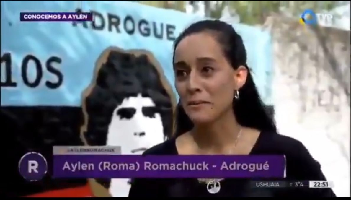 Una emocionante historia une a Aylen, periodista y campeona de Taekwondo, oriunda de Almirante Brown, con la generosidad ya conocida de Diego Armando Maradona