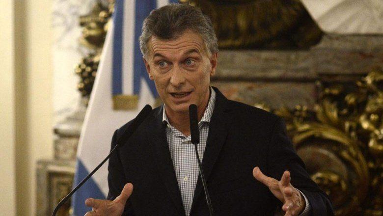 """""""Bolsos en conventos"""" y """"déficit desde hace 70 años"""": los dardos que Macri le tiró al peronismo"""