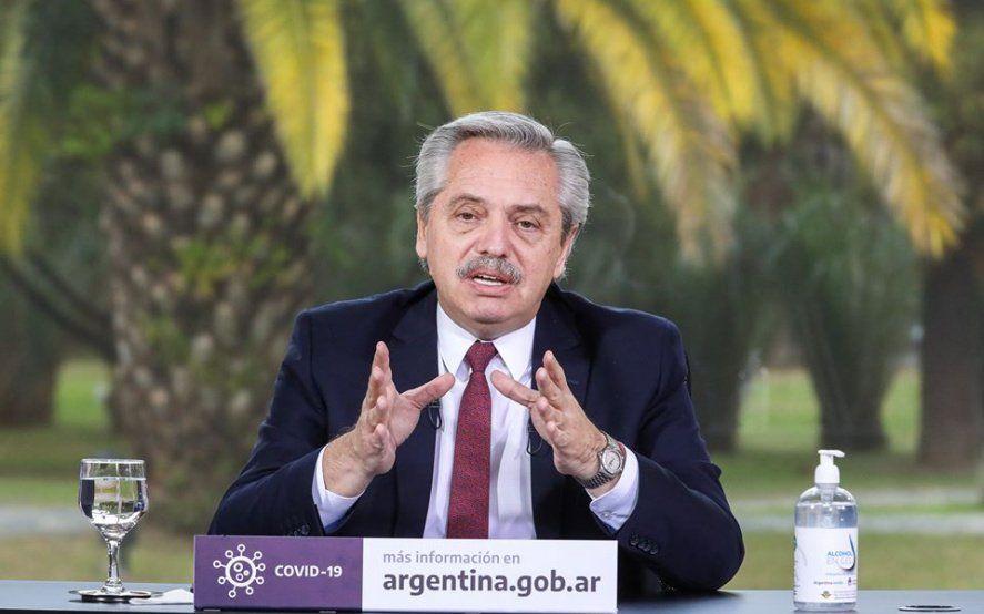 Alberto Fernández anunció obras públicas con perspectiva de género