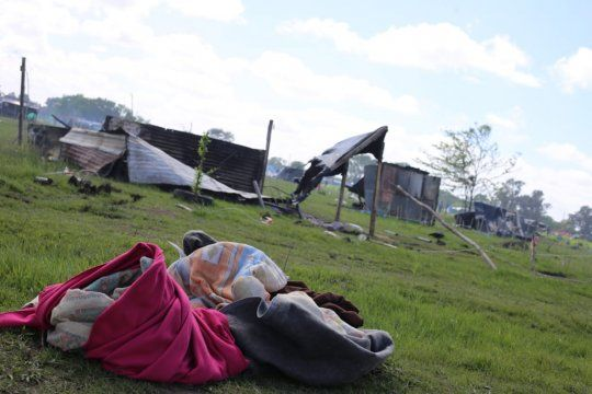 La Provincia realizó un informe de situación tras el desalojo de Guernica