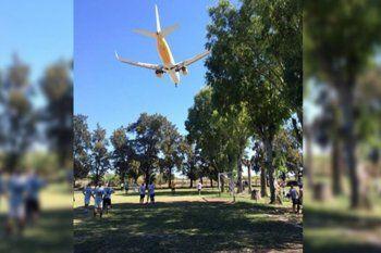 El aeropuerto El Palomar no podrá funcionar por el momento
