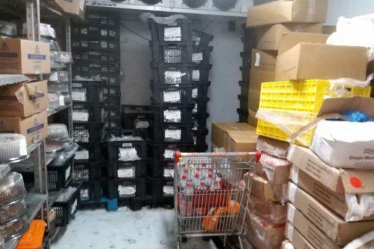 un asco: clausuraron un supermercado coto en la matanza por falta de higiene