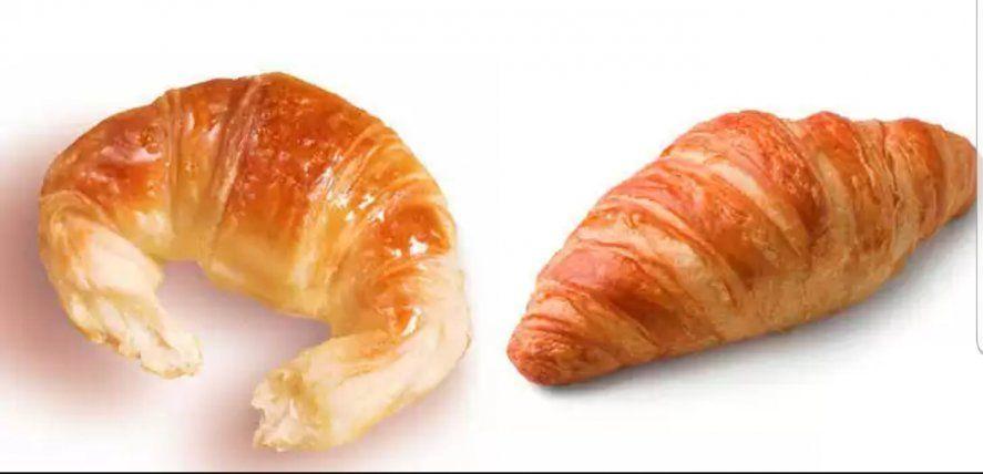 Medialuna y croissant