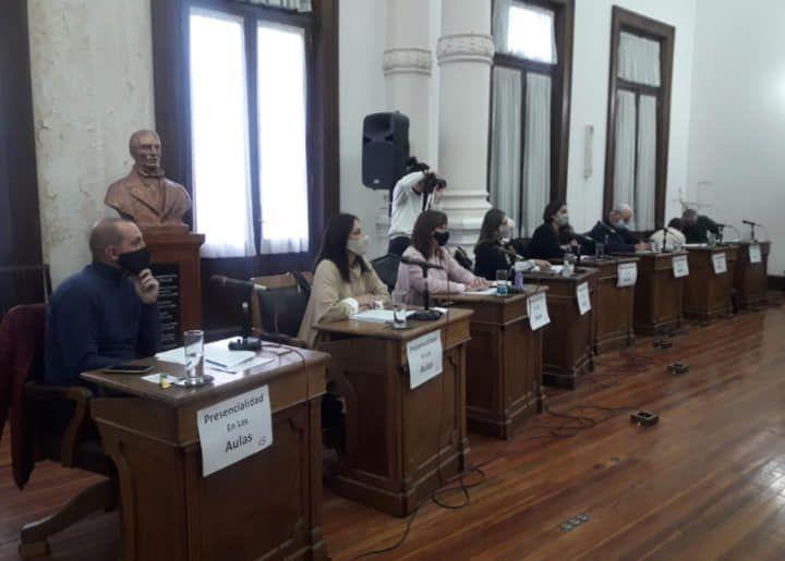 Bloque de Concejales Alianza Juntos por el Cambio Coronel Suárez (Foto Facebook)