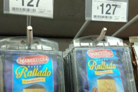 queso rallado con alarma: el reflejo de la inflacion en una sola imagen