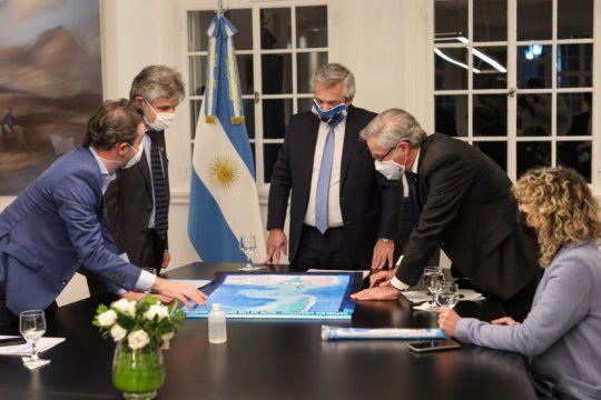 alberto fernandez elaboro proyectos para continuar con el reclamo de soberania sobre las malvinas