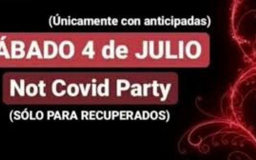 Polémica convocatoria a una fiesta electrónica para pacientes recuperados de Covid-19