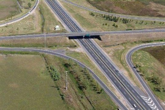 por obras, cierran el ingreso a villa elisa desde la autopista