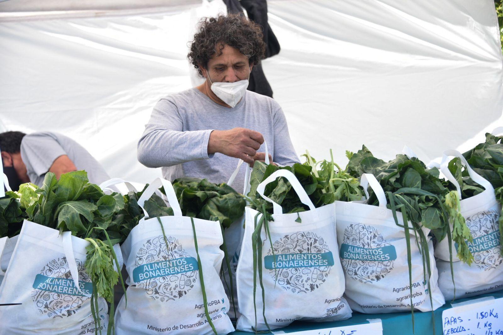 El Ministerio de Desarrollo Agrario presentó la plataforma web Mercados bonaerenses.