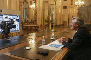 El Presidente participó del encuentro de la Pastoral Social porteña (Foto: Agencia Tëlam)