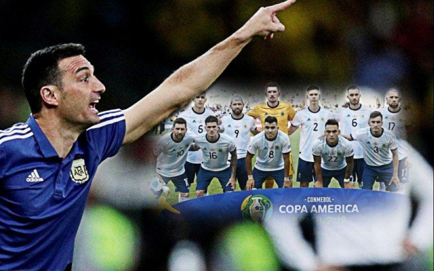 Los 11 de Scaloni para la despedida de Argentina frente a Chile