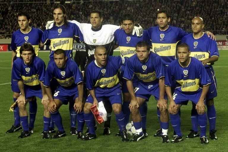 El imparable Boca del 2001 se movía al ritmo de Riquelme.
