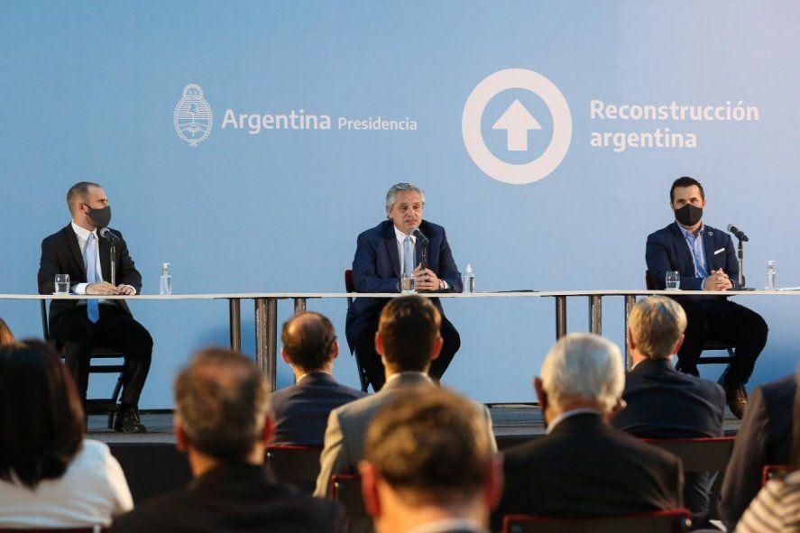 Alberto Fernández anunció el Plan Gas Argentino