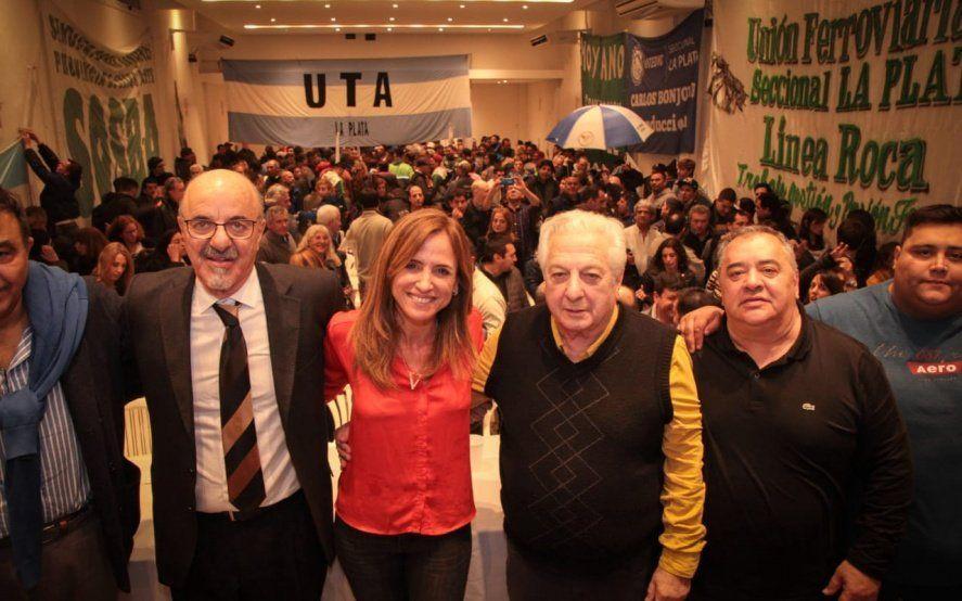 Tolosa Paz convocó a los gremios a hacernos cargo del trabajo en la ciudad de La Plata