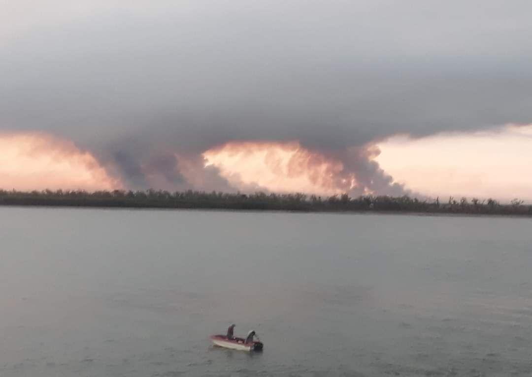 Incendios en San NicolásFoto:Ángel Nardone